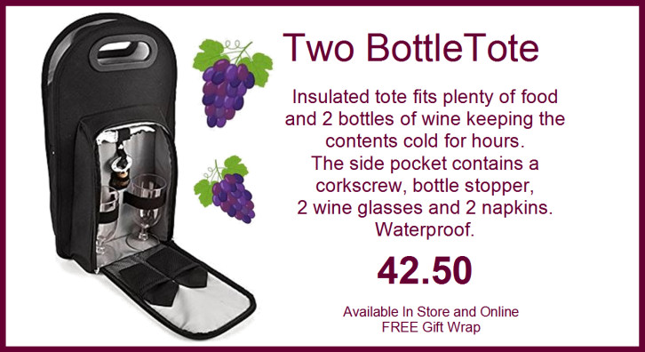 Two Bottle Tote