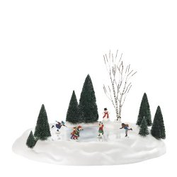 Department 56 Animated Skating Pond