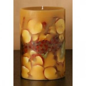 "Spicy Apple 6"" x 9.5"" Candle"