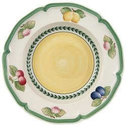 French Garden Fleurence Rim Soup 9""