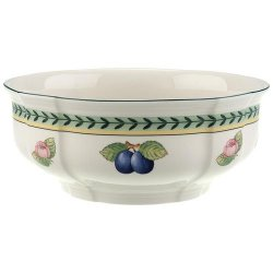 French Garden Fleurence Round Vegetable Bowl 8 ¼""