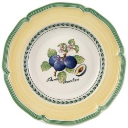 French Garden Valence Rim Soup 9""