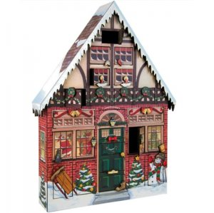 Wooden Advent Calendar - Christmas House