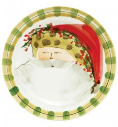 VIETRI Old St. Nick Animal Hat Dinner Plate Style #OSN-7800C