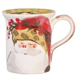 VIETRI Old St. Nick Animal Hat Mug Style #OSN-7810C