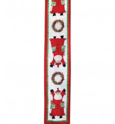 VIETRI Old St. Nick Table Runner Style #OSN-4594