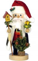 "ULBRICHT 16"" Natural Santa with Bird Style #0-617"
