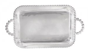 MARIPOSA Pearled Service Tray Style #668