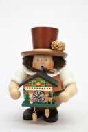 ULBRICHT Black Forest Man With Clock Style #1-468