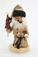 ULBRICHT Santa With Tree & Bag Natural Style #35-968