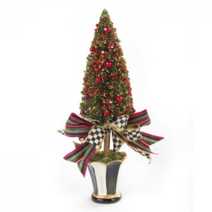 MacKenzie Childs Bottle Brush Christmas Tree