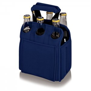 PICNIC TIME Six Pack Cooler Tote Style #608-00-138 - Navy