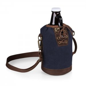 PICNIC TIME Growler Tote with Growler Style #610-85-138 - Navy