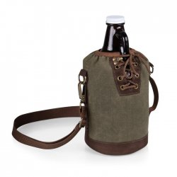 PICNIC TIME Growler Tote with Growler Style #610-85-140 - Khaki