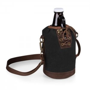 PICNIC TIME Growler Tote with Growler Style #610-85-311 - Black