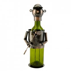 Wine Bottle Holder - Golfer