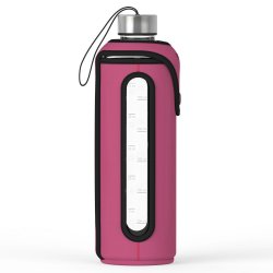 Xtremeglas 32 OZ glass bottle - Fuschia