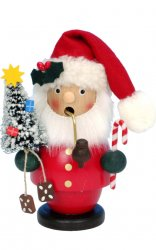 ULBRICHT Smoker Red Santa w/ Tree Style #1-530