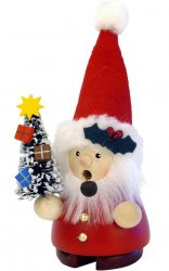ULBRICHT Smoker Santa with Tree Style #1-651
