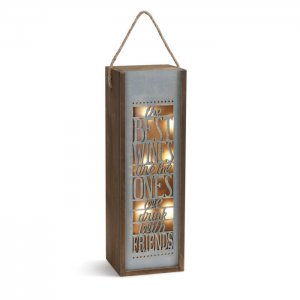 Lighted Wine Caddy - The best wines