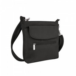 Travelon Anti-Theft Classic Mini Shoulder Bag Style #42459 - Black