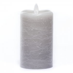 """Candle Impressions Flameless Frosted Warm Sand 3"""" x 5"""""""