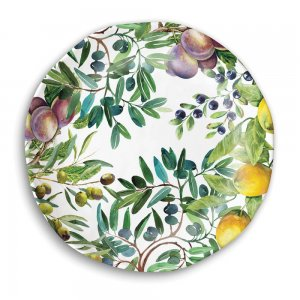 Michel Design Works Tuscan Grove Melamine Casual Dinner Plate Style #SWDP277