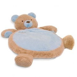 Plush Baby Mat - Blue