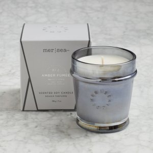 Mersea Signature Boxed Candle - Amber Fumée