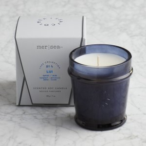 Mersea Signature Boxed Candle - Lui