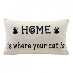 Accent Pillow - Cat Oblong