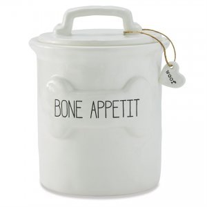 Dog Treat Canister - Bone Appetit