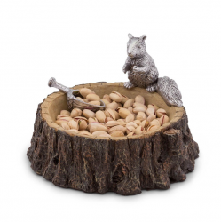 Arthur Court Squirrel Nut Bowl