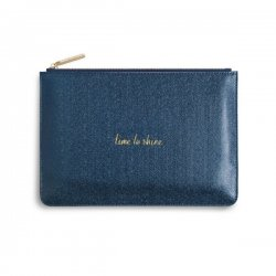 Katie Loxton Perfect Pouch - Time to Shine - Shiny Sapphire