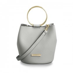 Katie Loxton Suki Bucket Bag - Pale Grey