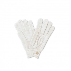 Katie Loxton Cable Knit Gloves - Cream
