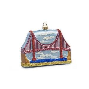 Golden Gate Bridge Ornament
