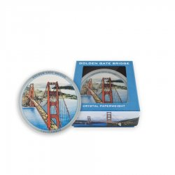 Golden Gate Bridge Paperweight
