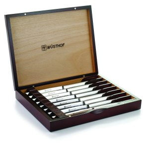 Wusthof 8 Piece Steak Set Style #946S - Rosewood