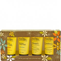 The Naked Bee Orange Blossom Honey Body Lotion, Body Wash, Shampoo, Conditioner