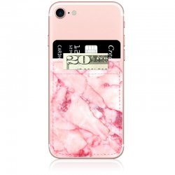 iDecoz Blush Marble Phone Pocket
