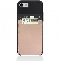 iDecoz Nude Leather Phone Pocket