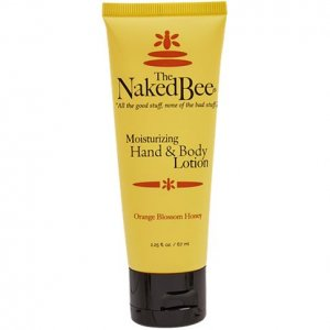 The Naked Bee Orange Blossom Honey Hand and Body Lotion Small Tube - 2.25 oz.