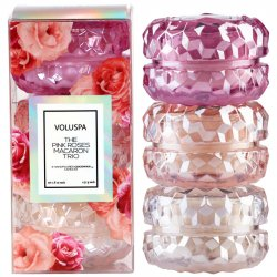 """Voluspa"" Roses 3 Macaron Candle Gift Set - Style #5392"