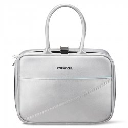 Corkcicle Baldwin Boxer Lunch Bag - Silver Grey