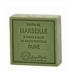 Lothantique Square Bar Soap - Olive