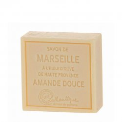 Lothantique Square Bar Soap - Sweet Almond