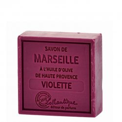 Lothantique Square Bar Soap - Violet