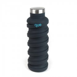 Que Bottle - 20 oz - Charcoal