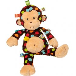 Taggies Dazzle Dots Big Monkey Soft Toy – 18""